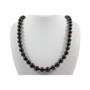 Collier shungite (boules 5-6mm) - 45cm