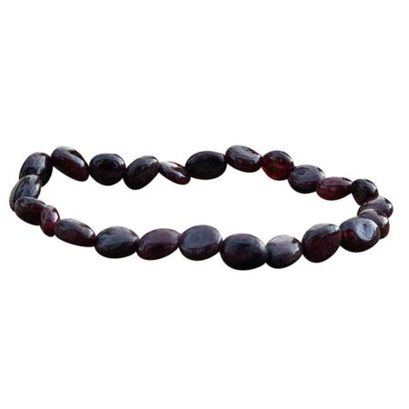 Bracelet grenat (grains 5-7mm)