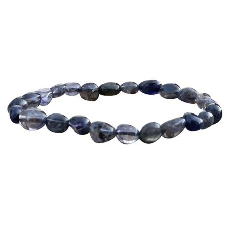 Bracelet iolite A (grains 5-7mm)