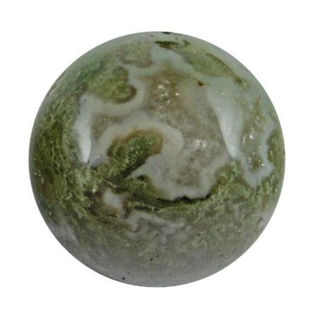 Boule agate mousse - 30mm