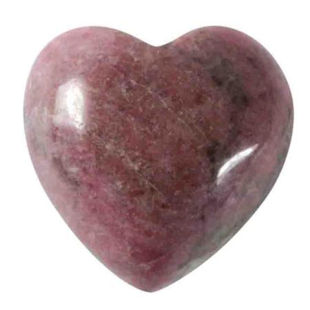 Coeur rhodonite 15mm