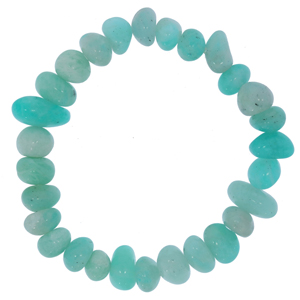 Bracelet amazonite (pépites 7-10mm)