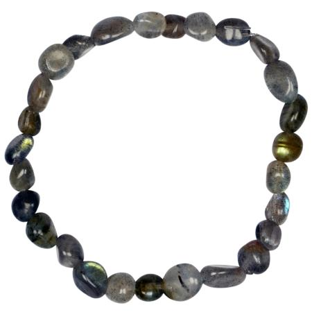 Bracelet labradorite (grains 5-7mm)