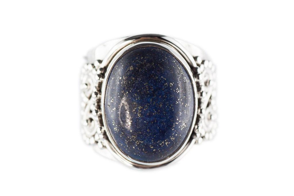 bague lapis lazuli argent. Black Bedroom Furniture Sets. Home Design Ideas