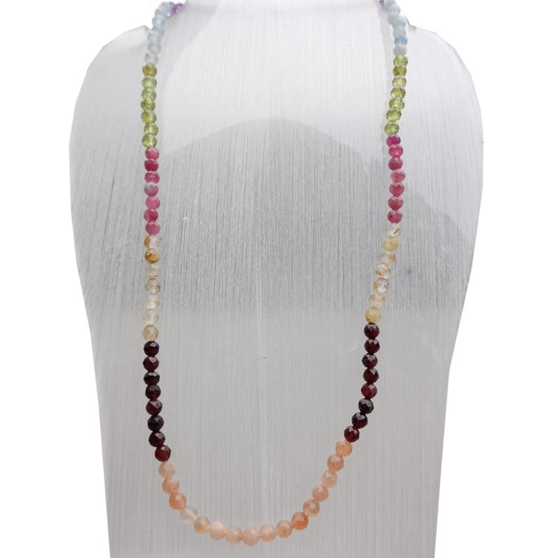 collier 7 chakras homme