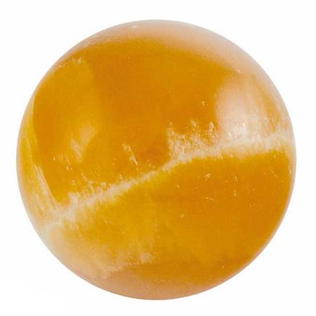 Boule calcite orange - 40mm