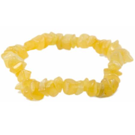 Bracelet calcite orange (pierres baroques)