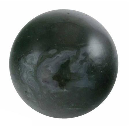 Boule agate mousse - 40mm