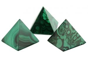 Pyramide malachite (base 50mm)