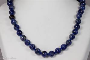 Collier sodalite (boules 8mm)