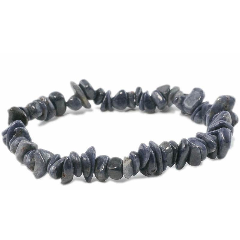 grossiste ac93c ec496 Bracelet saphir bleu (pierres baroques)