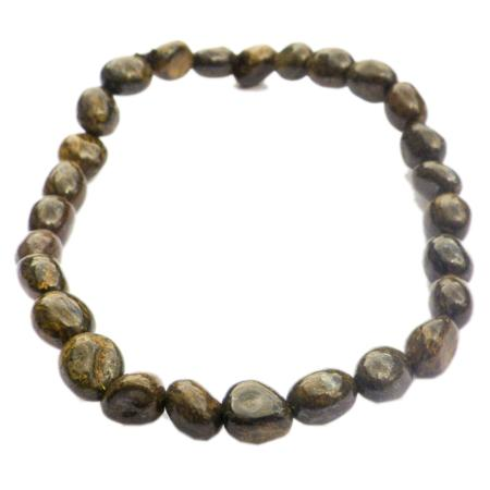 Bracelet bronzite (grains 5-7mm)