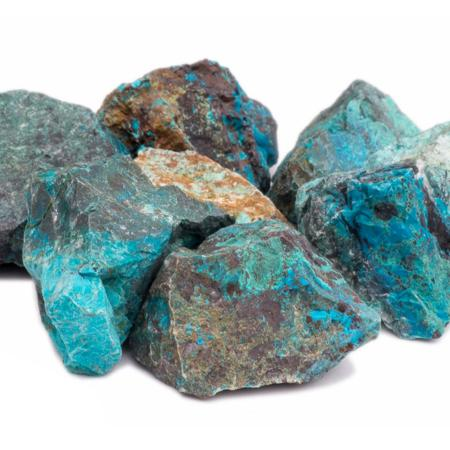Chrysocolle (pierre brute)