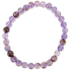 Bracelet quartz super seven (boules 5-6mm)
