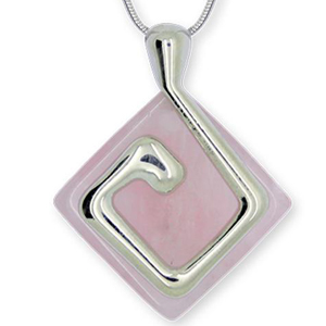 "Collier ""Nature Odyssey"" - Terre - Quartz rose"
