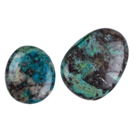 Chrysocolle (galet)